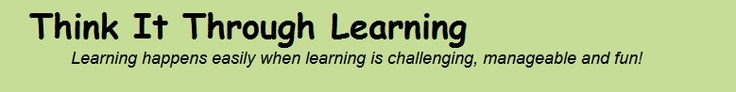 Think It Through Learning with Susan Gandy Smith, M.S. Educational