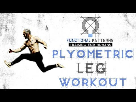Functional Patterns: Unilateral Plyometric Glute and Leg Workout from a Basic Lunge into a Splitter Lunge