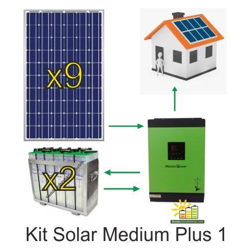 404 Kit Solar Bateria Solar Y Kit