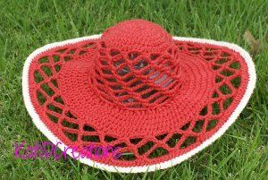 Wide Brimmed Crochet Hat==First crochet hat of this kind that I've seen. Kind of like it too! ~Dee