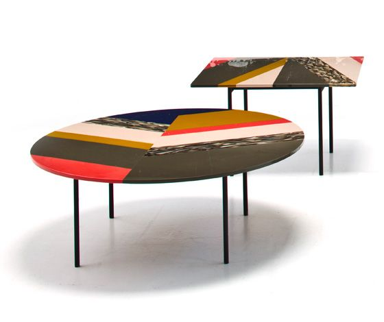 Fishbone tables by patricia urquiola for moroso nice for Furniture 0 interest