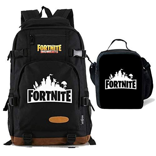 a25cb2d605de Beautiful FashionRun Kids Fortnite Backpack Lunch Box Bookbag for ...