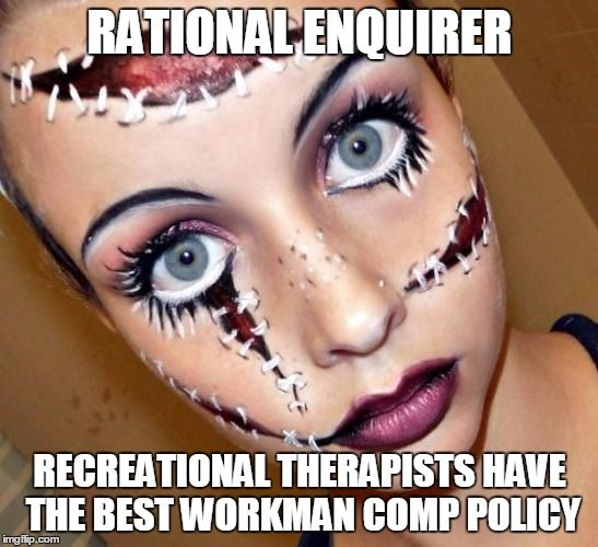DATING SERVICE: RECREATIONAL THERAPIST