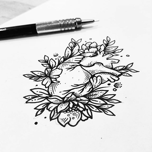 Un pequeño corazón para hoy ❤🌿 Qué plan tienen para este fin de semana !? Para diseños, tatuajes, cita y cotizaciones manden un inbox por facebook o a sollefetattoo@gmail.com . . . #heart #weekend #art #sketch #linework #flashworkers #flashaddicted #nature #inkmx #design #drawing #ink #illustration #iblackwork #blackandwhite #blackwork #blackworkers_tattoo #blackworkerssubmission #amazingink #tattoo #tattooartist #tattedup #tattrx #lovely #graphic #dotwork