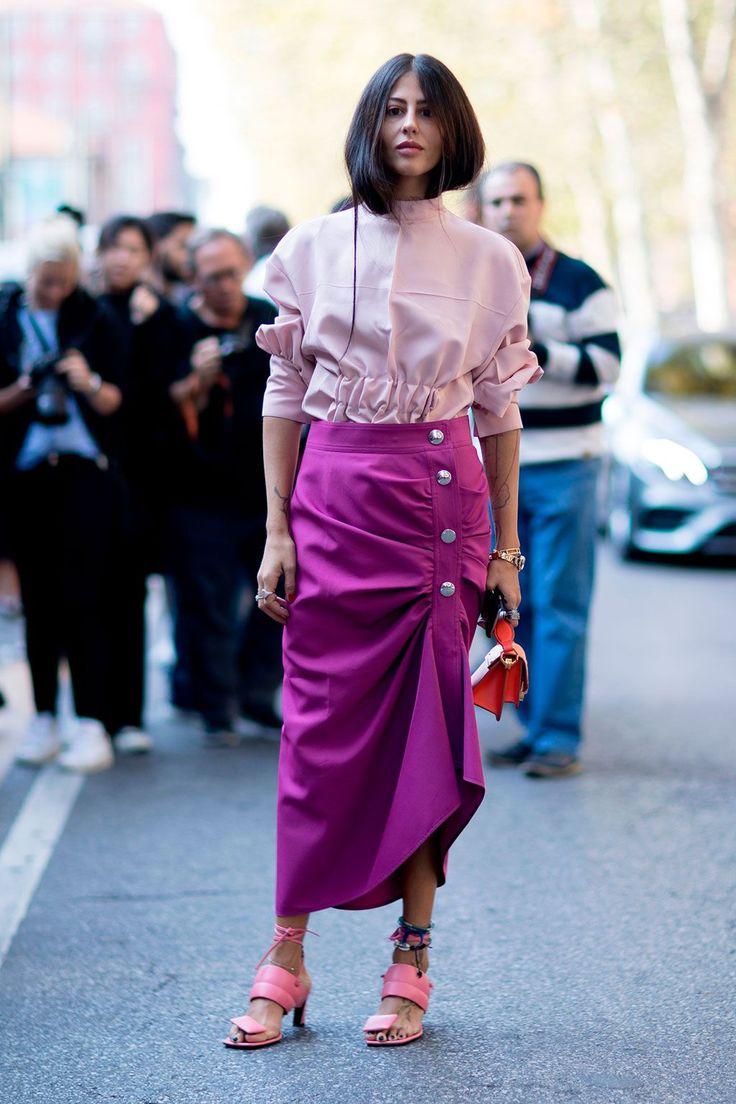 15 estilismos para copiar vistos en las calles de Milán- HarpersBAZAARES