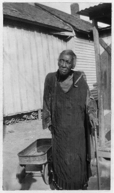 Ann J Edwards , 81, was born a slave of John Cook , of Arlington County. Virginia. He manumitted his slaves in 1857. Four years later Ann was adopted by Richard H. Cain , a colored preacher. He was elected to the 45th Congress in 1876, and remained in Washington, D. C., until his death, in 1887. Ann married Jas. E. Edwards , graduate of Howard College, a preacher. She now lives with her granddaughter, Mary Foster , at 804 E. 4th St., Fort Worth, Texas.
