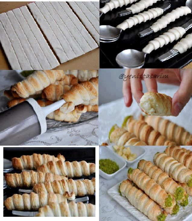DIY Filled Puff Pastry: #puffpastry #tutorial
