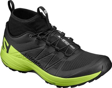 Men's Salomon XA Enduro Trail Running Shoe - Black/Lime Green/Black with FREE Shipping & Exchanges. With your foot tucked in the Salomon XA Enduro Trail Running Shoe, the mountain is yours to play,