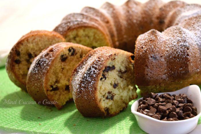 Ciambella cioccobanana - Ricette Blogger Riunite