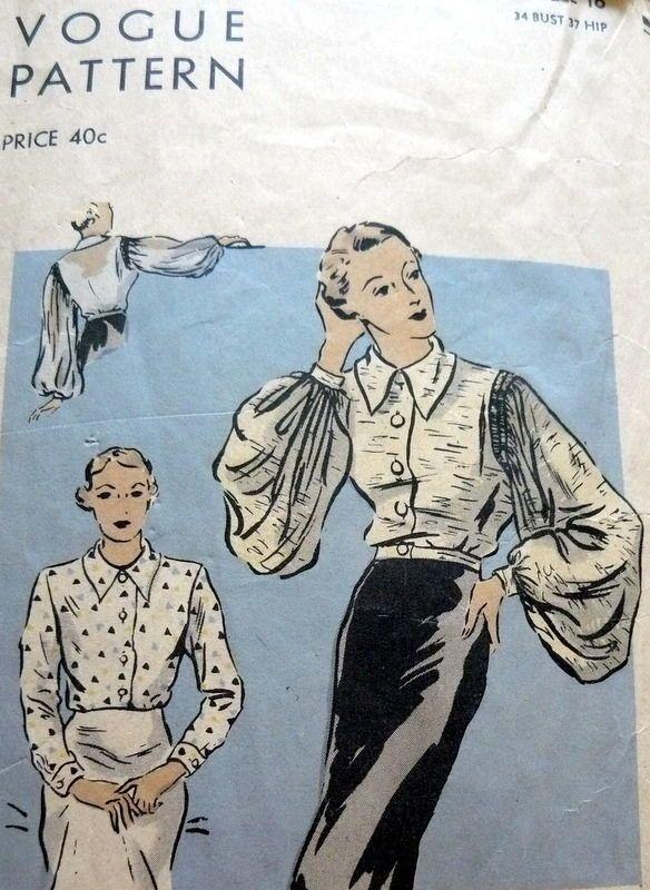 44 Best Vintage Patterns Images On Pinterest Vintage Dresses