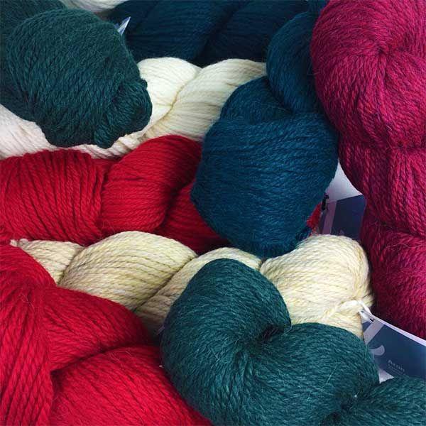 Christmas Colour pack of Aran Alpaca Blend Wool  #aranwool #aran #aranknitting #colourpacks  #knitting #crochet #weaving #weave #felting #alpaca #yarn #wool #alpacawool #alpacayarn #Alpaca #autumn #autumncolours #autumnknitting