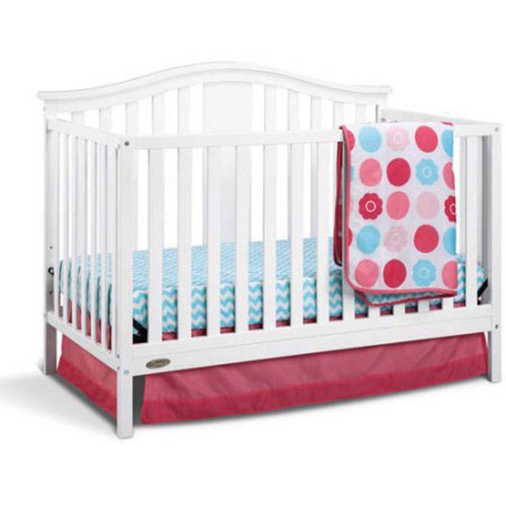 Graco Convertible Crib 4-in-1 And Bonus Mattress Nursery ...