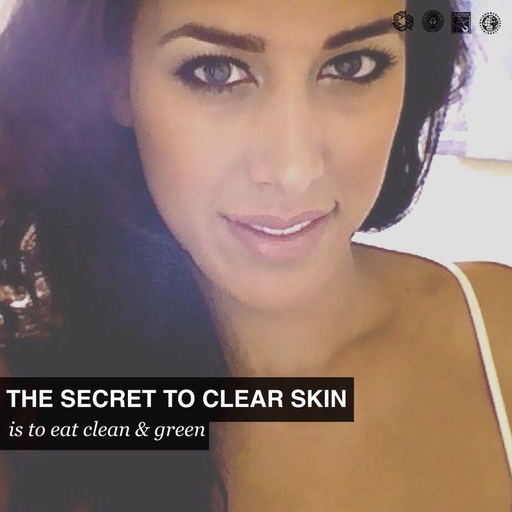 Clear skin!