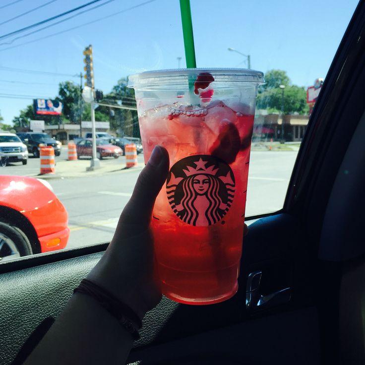Strawberry Acai Refresher From Starbucks Strawberry