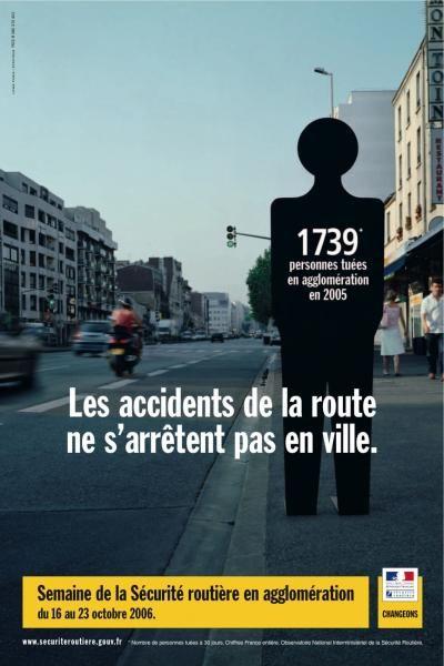 Les accidents de la route ne s'arrêtent pas en ville