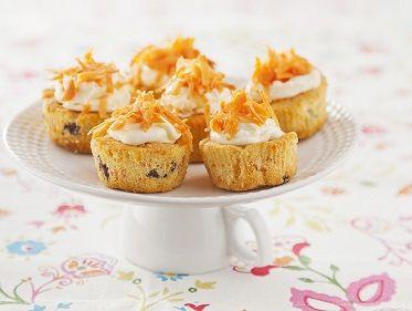 Recept voor Cupcakes met mascarpone en wortel - Koopmans.com