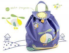 Детский рюкзак для самых маленьких: выкройка и мастер класс по шитью своими руками