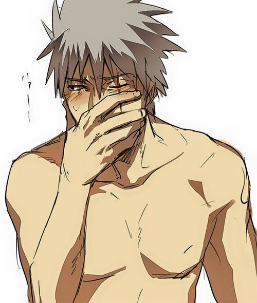 Aww it's okay Kakashi, u don't have to be shy!
