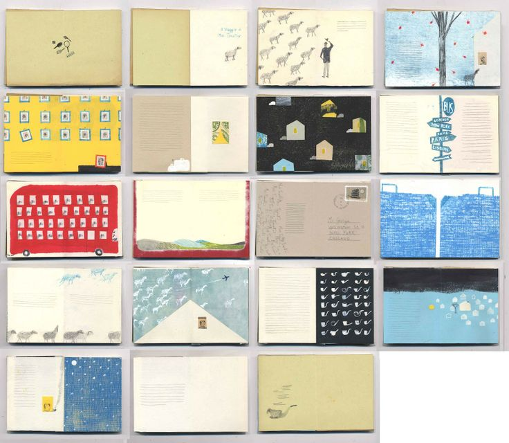 Envelopes. Not sure why but I am really crazy for this storyboard by Valerio Vidali