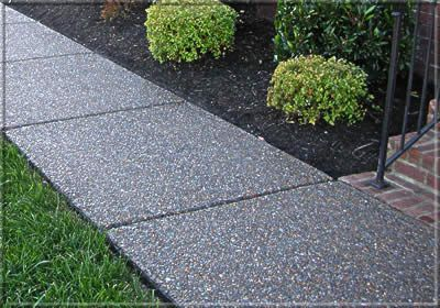 137 Best Exposed Aggregate Concrete Images On Pinterest