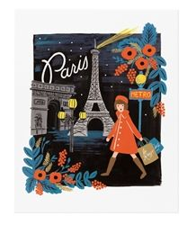 Rifle Paper Co. Travel Paris Art Prints now available at Northlight