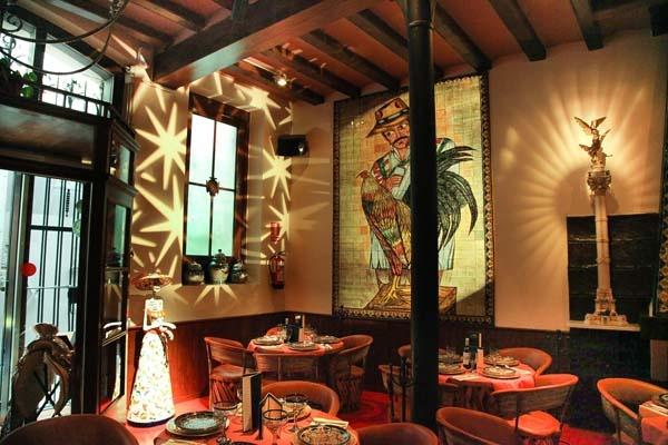 Los azulejos restaurante mexicano barcelona favorite for Restaurante azulejos