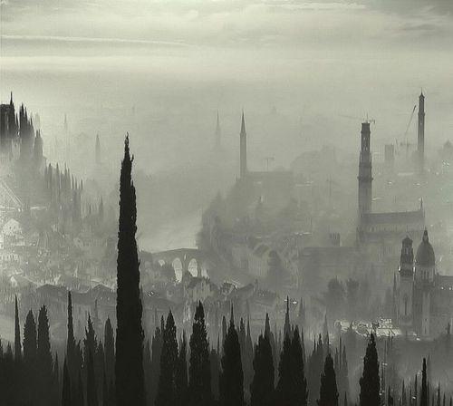 Nebbia a Verona