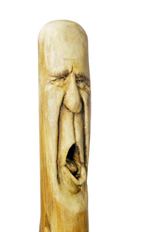 THIS WALKING STICK IS RESERVED FOR ANDREW! IF YOU ARE NOT ANDREW, PLEASE DO NOT BUY THIS CARVING! THANK YOU!   This is a walking stick wood carving