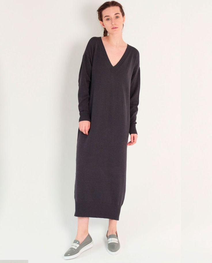 Вязаное платье Le Poudre  Интернет-магазин дизайнерской одежды lepoudre.com