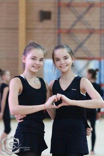 The Averina Twins - Rhythmic Gymnastics