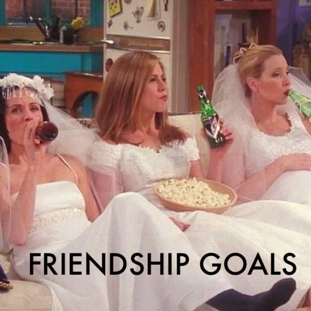 Friends TV show, Monica, Rachel and phoebe, Friendship goals