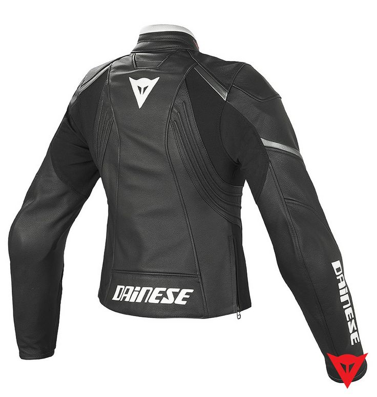 Dainese Leather Jacket Laguna Evo Pelle Lady - back