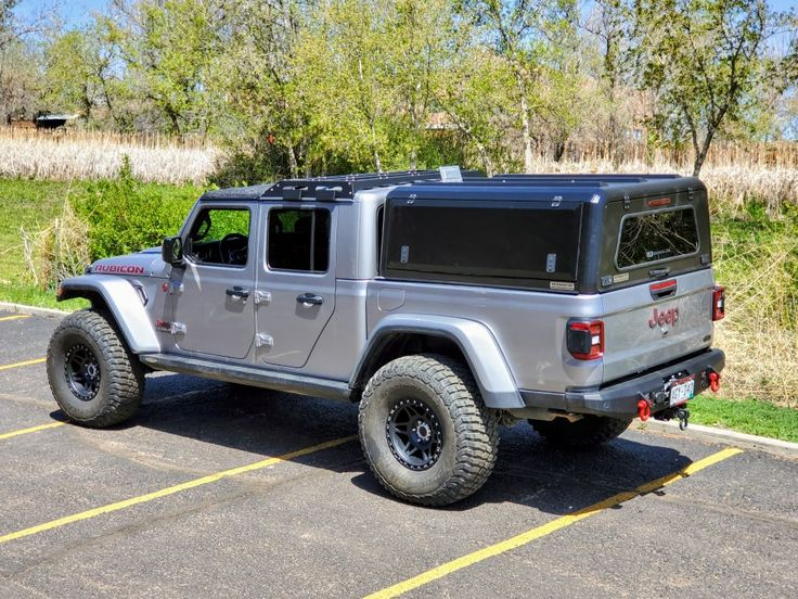Jeep Gladiator RLD stainless steel canopy in 2020 Jeep