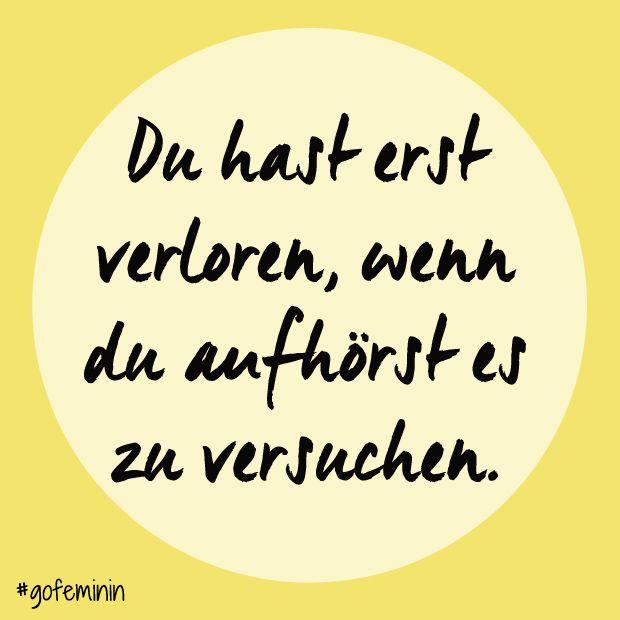 Die besten Motivationssprüche auf www.gofeminin.de/wellness/album1157846/die-besten-motivationsspruche-fur-den-sport-0.html #quotes #motivation #fitspo