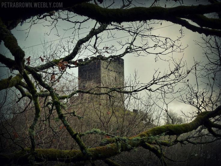 Dolwyddelan Castle in the mountains of Wales.