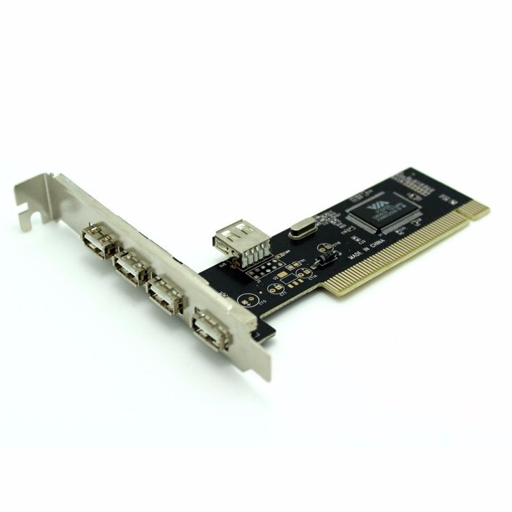 Free shipping  Pci card high-speed 480mbp/s USB 2.0 PCI express card  VIA6212 chipset  5 port  adapter add on Card