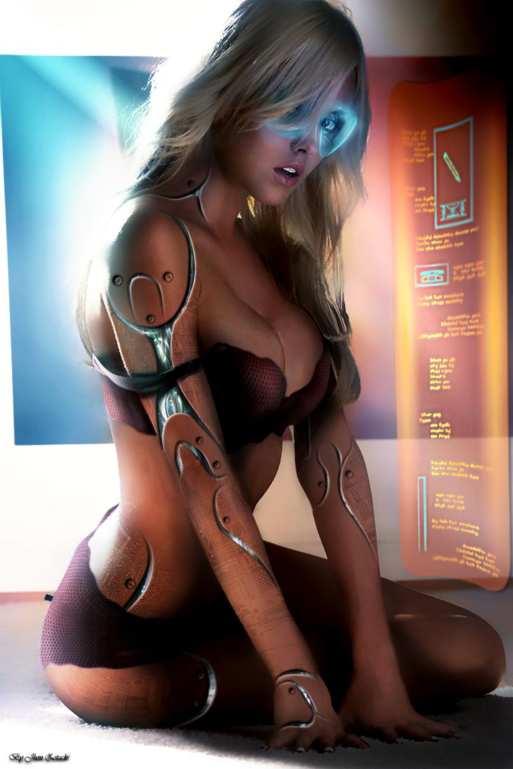 Cyborg Morph Manip Sci-Fi Girl By Assassin0109 On -3555