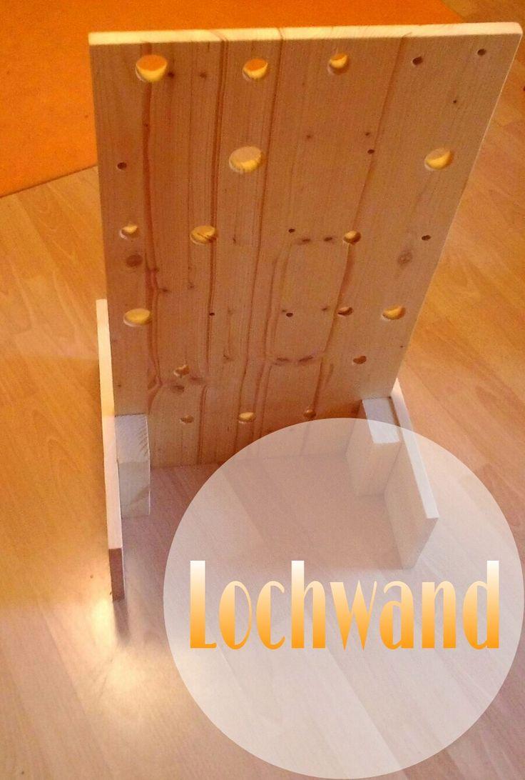 Montessori, Lochwand, Steckspiel