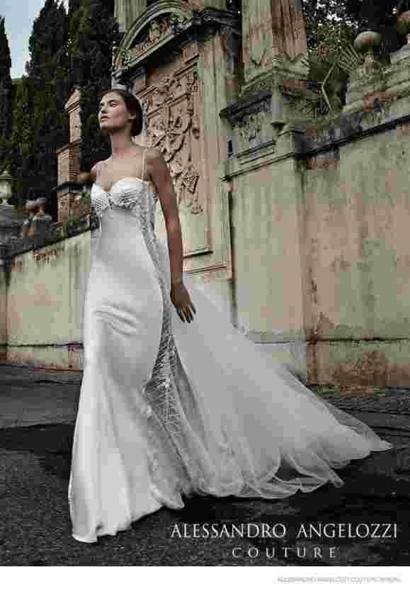 Великая красота: Бьянка Балти в свадебном каталоге Alessandro Angelozzi, Couture 2015