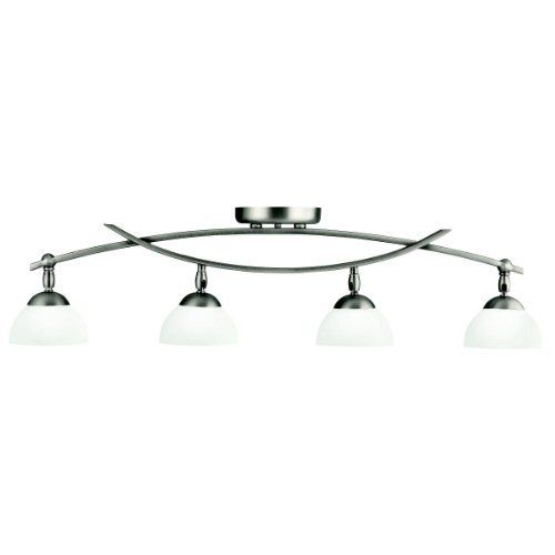 Kichler Lighting 42164AP Bellamy 4-Light Halogen Directional Fixed Rail Light, Antique Pewter by Kichler. $274.00. From the Manufacturer                The Kichler Lighting 42164AP 4-light Bellamy Directional Fixed Rail Light measures 34-1/2-Inch in length with a body height of 8-1/2-Inch. Both sleek and contemporary and warm and classic, the transitional Kichler Bellamy Collection is one profile with two distinctly different looks. Expand your decorating options wi...