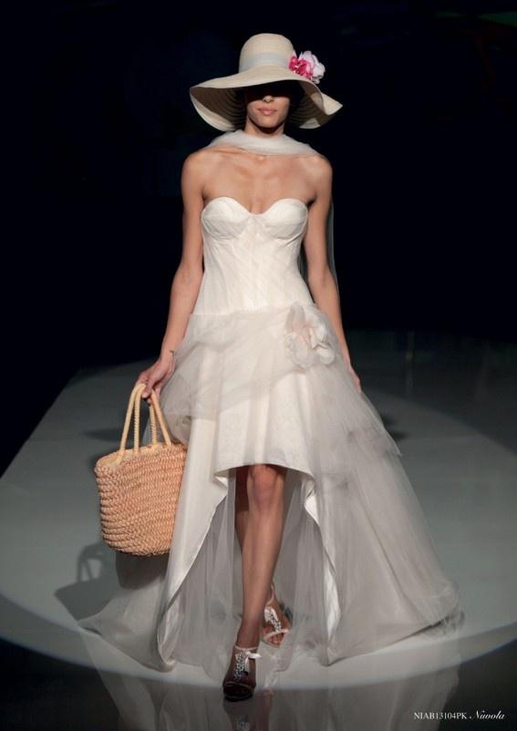 Collezione abiti da sposa #Nicole, abito da #sposa modello Nuvola
