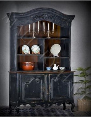 french country dining room painted furniture. brilliant french french country provence hutch black twotonemallory hall throughout dining room painted furniture