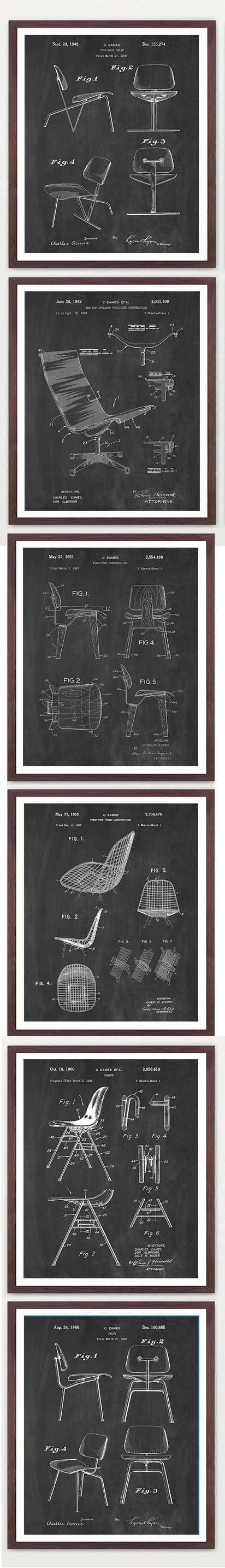 Eames chair patents, U.S. Patent Office