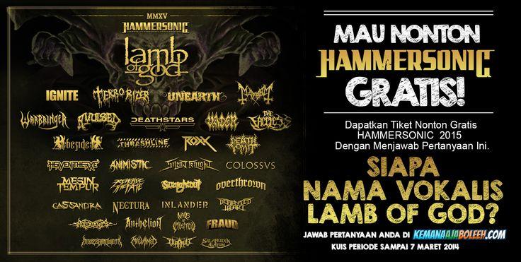 Hammersonic 2015 akan Menghitamkan Jakarta