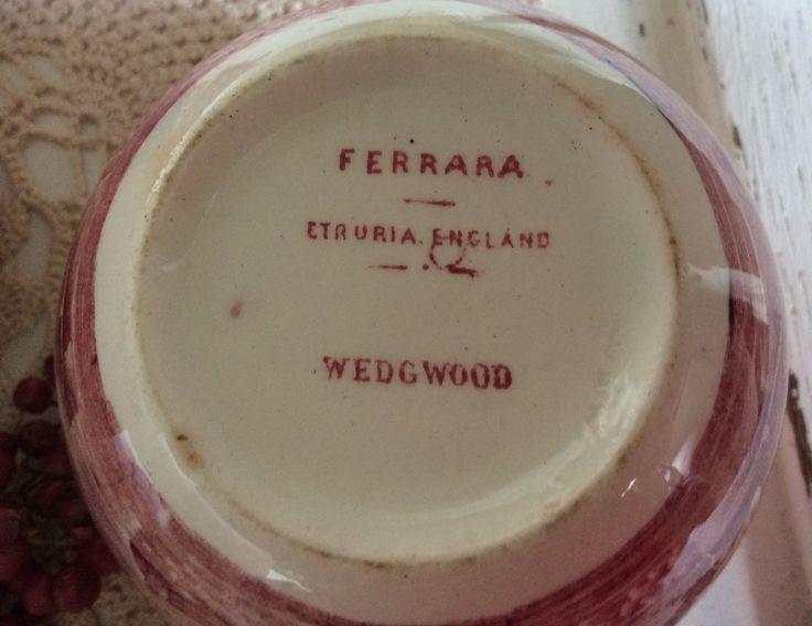 Wedgwood Etruria - Ferrara