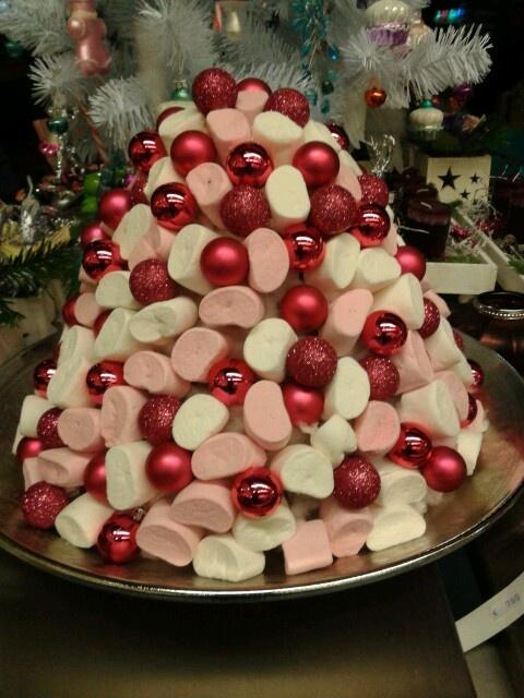Spekken toren kerst = snel op eten