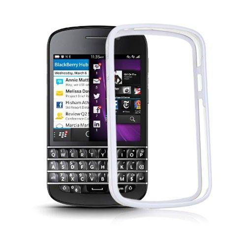 ClearBumper (White) Blackberry Q10 Bumper