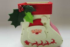 China is the world's largest processor of Christmas goods  http://www.hchomedecor.com/felt-easter-chicken-egg/