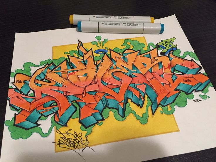 NOVER AOB GWB by NoverGWB #graffiti #blackbook