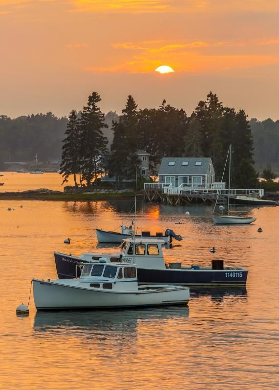 Boothbay Harbor - my best childhood memories are from here with me grandparents. Would love my girls to experience this with me!
